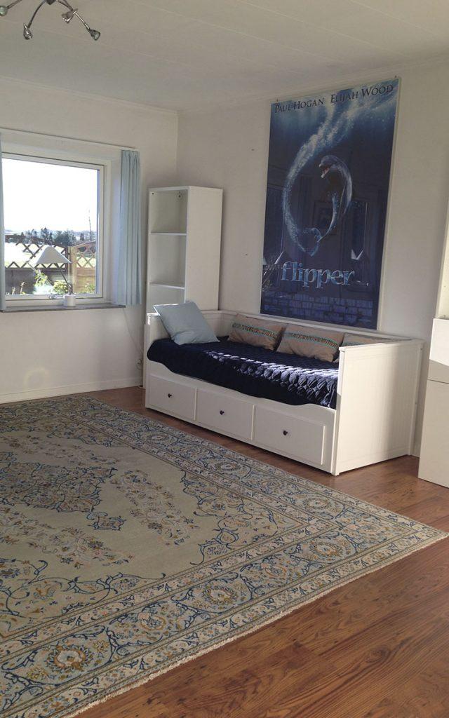 Lejlighed med ekstra soveværelse fra anden vinkel - Rækkehus 402 B - sædan at børene kan gå i skole i Roskilde