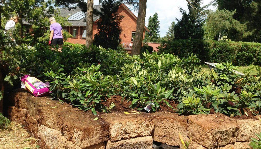 Blomster bed bliver lavet englegaarden - her kan du få genhusning