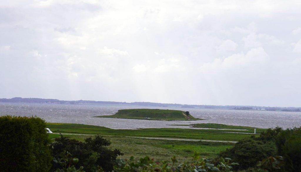 Englegaarden's udsigt - ligger tæt på Måløv